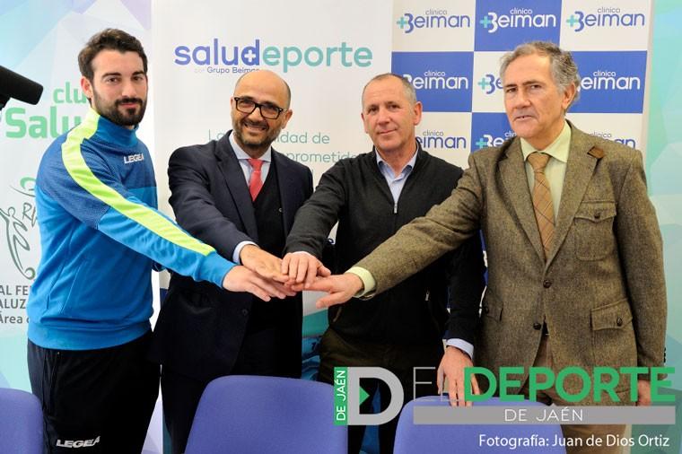Acuerdo entre el Real Jaén y Clínica Beiman