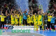 El Jaén Paraíso Interior FS, campeón de la Copa de España 2018