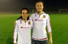 Celia Jiménez y María Alharilla, campeonas de la Cyprus Women's Cup con la Selección