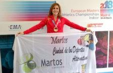 Encarna Gutiérrez, oro en el Campeonato de Europa Máster en Pista Cubierta