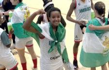 La linarense Feysse Quintana, campeona de España con la Selección Andaluza de minibasket