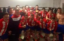 Los jugadores tosirianos celebran el triunfo. Foto: Facebook José Manuel Higueras