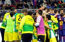 El Barça elimina al Jaén FS en la Minicopa
