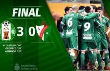 El Atlético Mancha Real vuelve a las andadas y golea al Huétor Vega