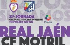 El Real Jaén – Motril se disputará este miércoles 4 de abril