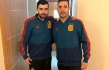 Chino y Dídac, a la espera del deseado debut con la Selección
