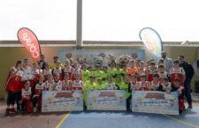La Copa COVAP congrega en Linares a cerca de 400 niños y niñas