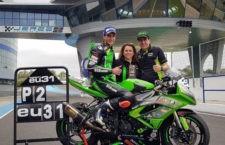 El piloto bailenense Edu Villar arranca la temporada con un segundo puesto en el Andaluz de velocidad
