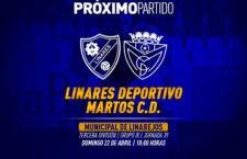 El Linares Deportivo – Martos CD, este domingo por la tarde