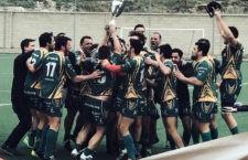El Jaén Rugby recibió la Copa de campeones de Andalucía