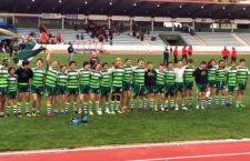Javier Sánchez y Manuel González, del Jaén Rugby, campeones de España sub'14 con la Selección Andaluza