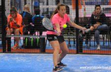 Marta Porras, a un paso del cuadro final en el Zaragoza Open. Foto: WPT.