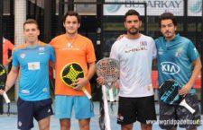 Luque y Rocha antes de comenzar su andadura en el Jaén Open. Foto: WPT