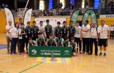 El Infantil del Balonmano Bailén, subcampeón de Andalucía