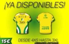 El Jaén FS presenta su camiseta conmemorativa de la Copa del Rey