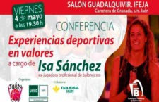 La ex jugadora de la Selección Española de baloncesto, Isabel Sánchez, impartirá una conferencia este viernes en Jaén