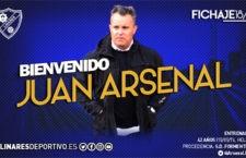 Juan Arsenal, nuevo entrenador del Linares Deportivo