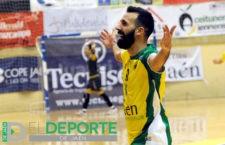 Carlitos renueva con el Jaén Paraíso Interior FS hasta 2021