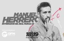Manolo Herrero firma por el Real Murcia