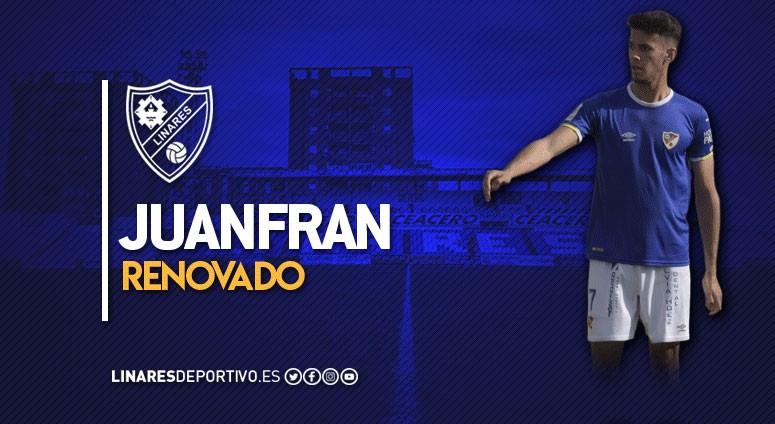 El Linares Deportivo oficializa la renovación de Juanfran