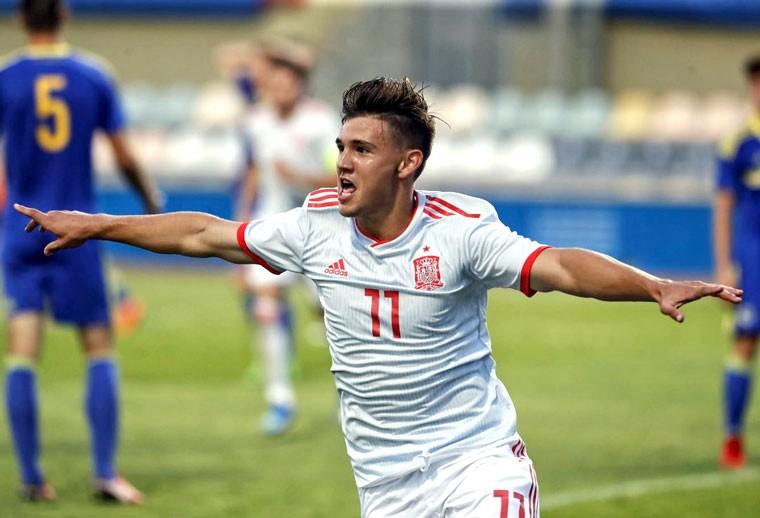 Nacho Díaz jugará con la Selección Sub-19 la ronda de clasificación para el Europeo 2019