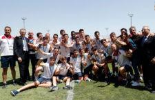 Nacho Díaz, oro en los Juegos Mediterráneos con la Selección Española