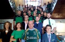 Recepción en el Ayuntamiento del Jaén Rugby tras su ascenso a División de Honor B