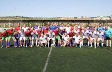 Triangular solidario a favor de la Asociación Fundela entre los veteranos del Real Jaén, Torredonjimeno y Torredelcampo