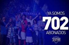 El Linares Deportivo supera la barrera de los 700 abonados