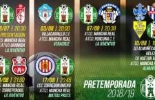El Atlético Mancha Real cierra seis citas futbolísticas de pretemporada