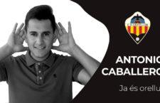 Antonio Caballero firma por el CD Castellón