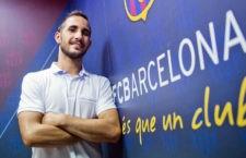 Boyis, presentado como nuevo jugador del FC Barcelona Lassa