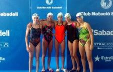 Las chicas del CN Santo Reino deslumbran en el Campeonato de España Alevín de Sabadell