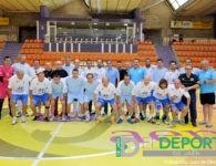 El partido de veteranos puso el broche de oro al I Campus Maratón Fútbol Sala impulsado por DeporJaén