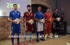 El Linares Deportivo presenta sus equipaciones para la temporada 2018-19