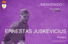 El guardameta Ernestas Juskevicius firma por el Real Jaén
