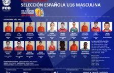 Pablo Sánchez jugará con la Selección Española el Europeo U16