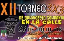 Porcuna prepara su XII Torneo 3×3 de baloncesto solidario en la calle