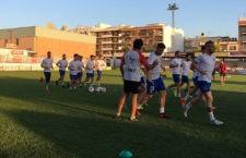 El equipo tosiriano celebró su primer entrenamiento de pretemporada en el Matías Prats. Foto: UDC Torredonjimeno