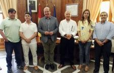 Reunión entre Ayuntamiento y Jaén FS para seguir en la línea de colaboraciones