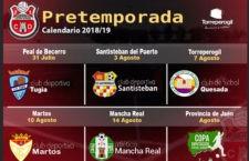 El CD Torreperogil anuncia su calendario de amistosos de pretemporada