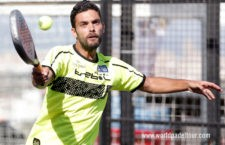 Antonio Luque en su partido de final de pre previa. Foto: World Padel Tour.