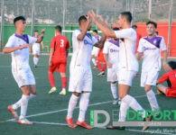 Goleada a Los Villares en el segundo amistoso del Real Jaén