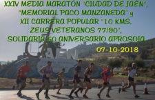 Abierto el plazo para la inscripción a la Media Maratón de Jaén