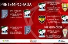 El Mengíbar FS anuncia sus encuentros de pretemporada