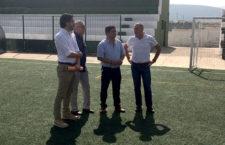 Compromiso para mejorar las instalaciones del Sebastián Barajas