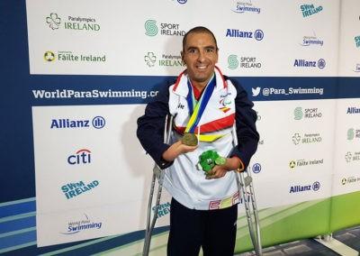 Martínez Tajuelo arranca el Europeo de Dublín con dos bronces