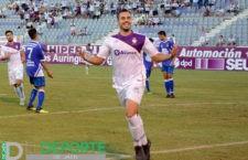 El Real Jaén golea al Alhaurino con un hat-trick de Antonio López