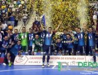 El Inter se proclama campeón de la Supercopa tras vencer al Jaén FS en la tanda de penaltis