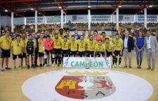 El Jaén FS se lleva la Copa de Andalucía con una victoria por la mínima ante el Real Betis
